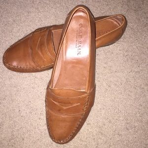 Cole Haan Brown Penny Loafers 10.5 M Italy